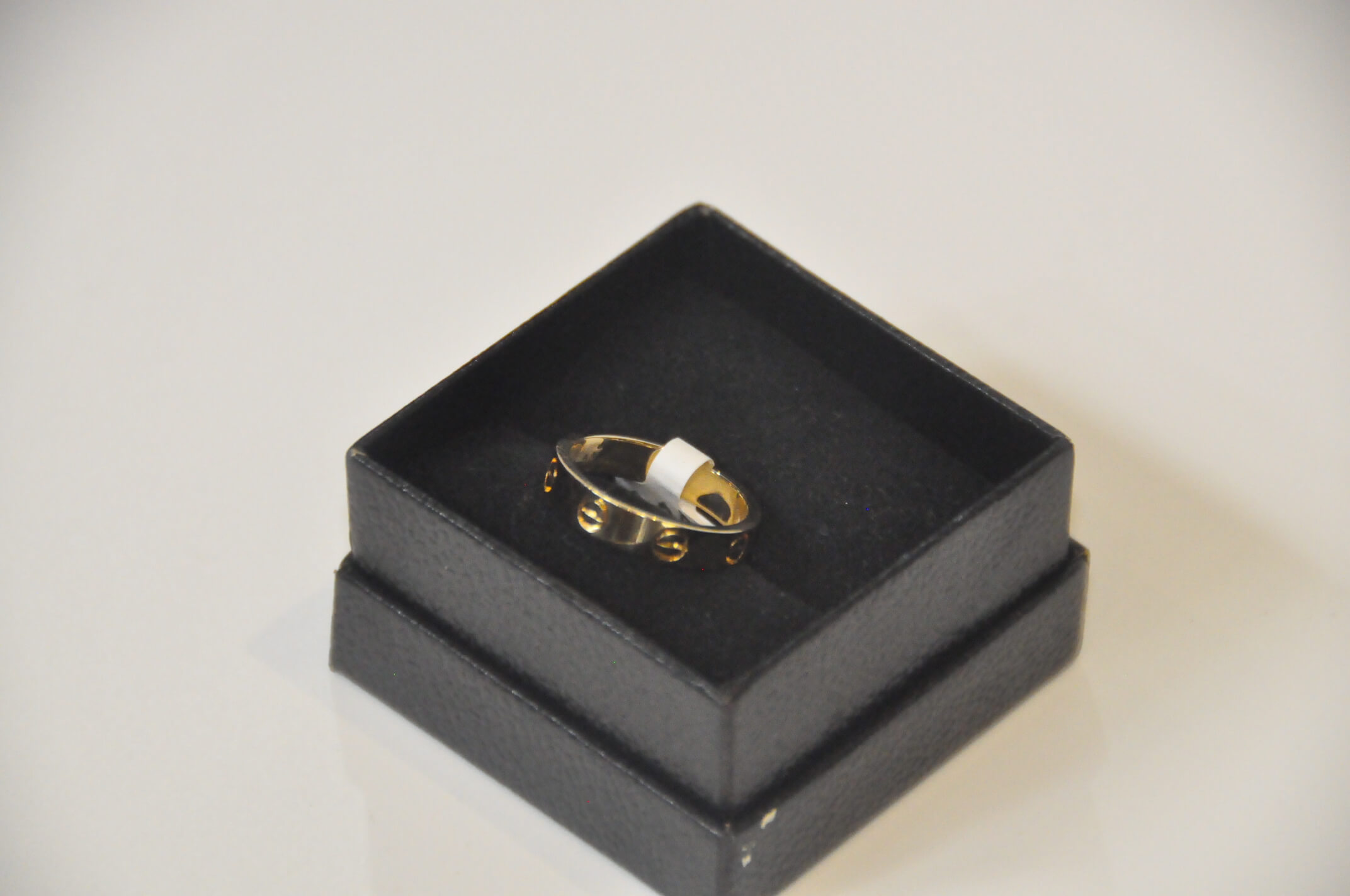 Jewelry Ring Carter 18K YG Thick Band 4.8g